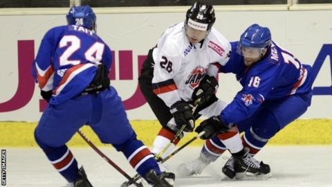 GB ice hockey players