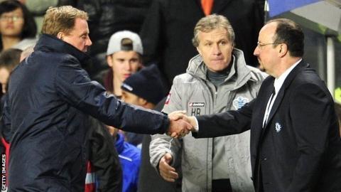 Harry Redknapp and Rafael Benitez