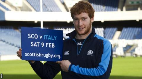 Rob Harley will make his first start for Scotland