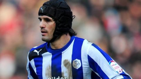 Miguel Llera in action for Sheffield Wednesday