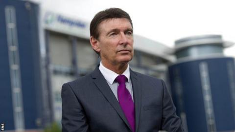 Former Rangers chief executive Gordon Smith