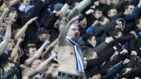 Zenit fans