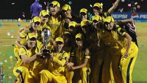 Australia win Women's World Cup