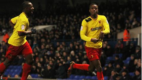Nathaniel Chalobah celebrates his goal