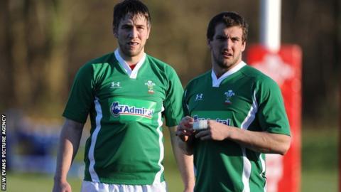 Ryan Jones and Sam Warburton