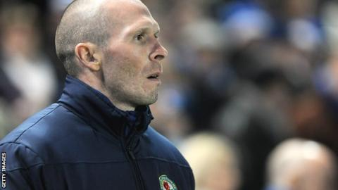 Blackburn Rovers manager Michael Appleton