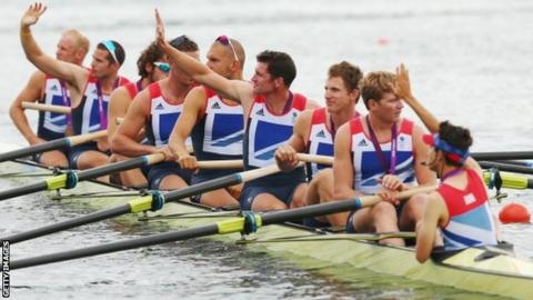 Men's eight London 2012