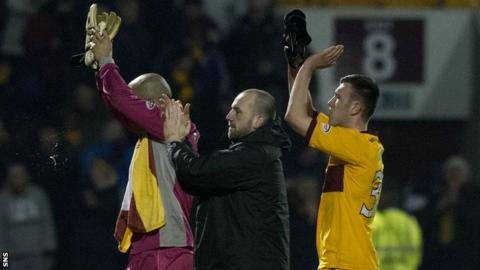 Motherwell players