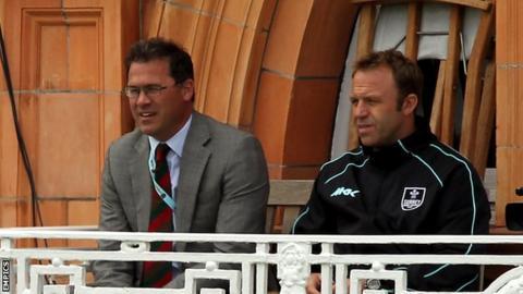 Richard Gould (l) and Chris Adams