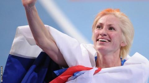 Banned Russian runner Yevgenia Zinurova