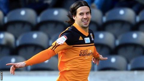 Hull striker George Boyd