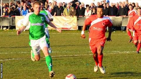 Guernsey FC vs Walsall Wood