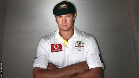 Australia all-rounder Shane Watson