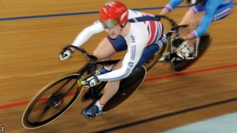 Jason Kenny shows his competitive edge on track