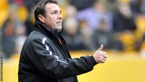 Cardiff City manager Malky Mackay.
