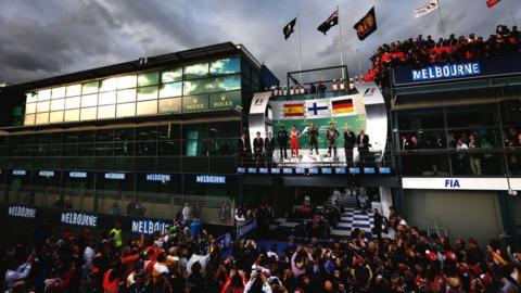 Australian Grand Prix presentation