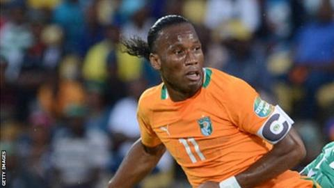 Ivory Coast striker Didier Drogba