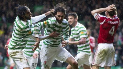 Highlights - Celtic 4-3 Aberdeen