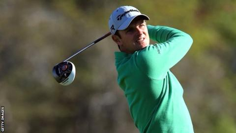 Justin Rose in first round action at the Arnold Palmer Invitational