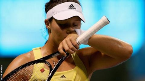 Britain's Laura Robson loses in Miami