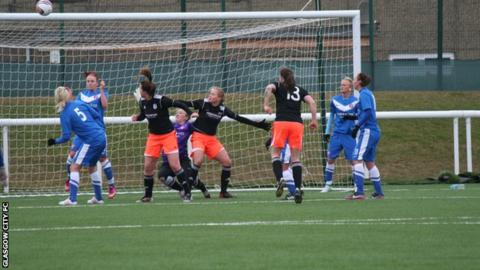 Swpl glasgow city top table after third win in a row bbc sport - Bbc football league 1 table ...