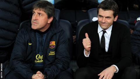 Barcelona coach Tito Vilanova