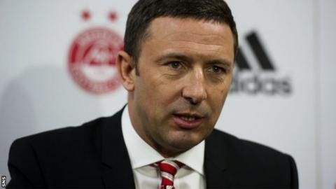New Aberdeen manager Derek McInnes