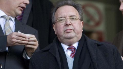 Dunfermline majority shareholder Gavin Masterton
