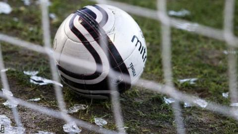 The freezing weather has postponed Livingston's home clash with Hamilton