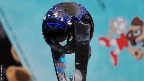The Under-20 World Cup trophy