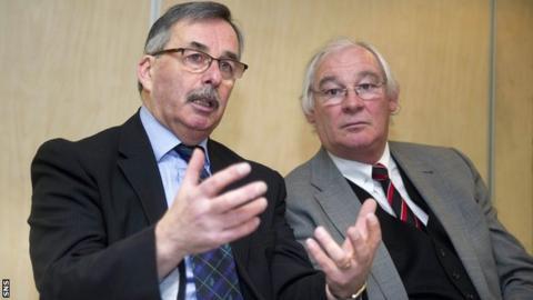 Bob Garmory and Jim Leishman