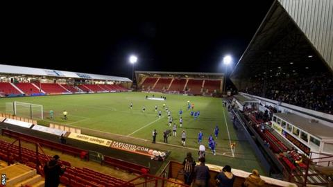East End Park - home of Dunfermline Athletic