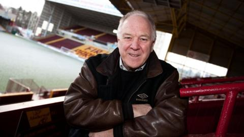 Craig Brown at Fir Park