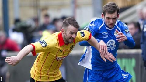 Queen of the South v Partick Thistle