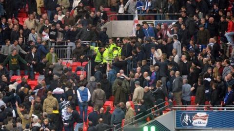 Millwall fans