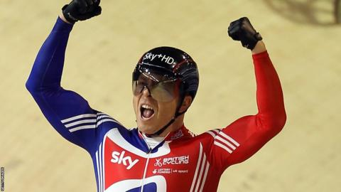 Chris Hoy won his 10th world title at the 2010 World Championships in Denmark.