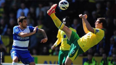 Norwich v Reading