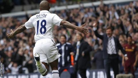 Tottenham's Jermain Defoe