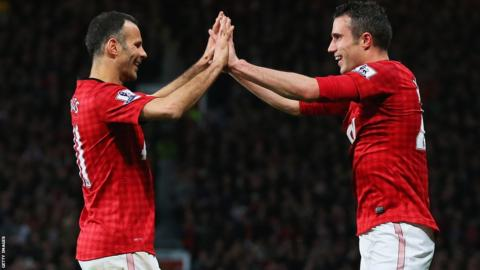 Ryan Giggs and Robin van Persie