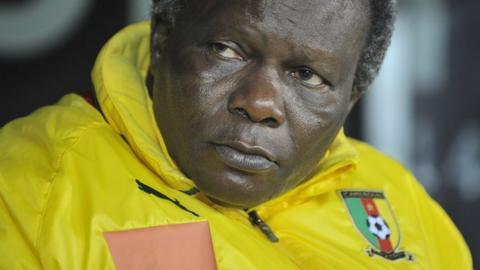 Cameroon coach Jean-Paul Akono