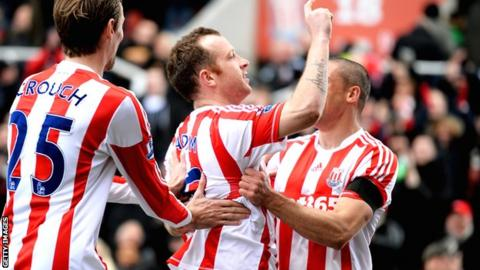 Stoke goal