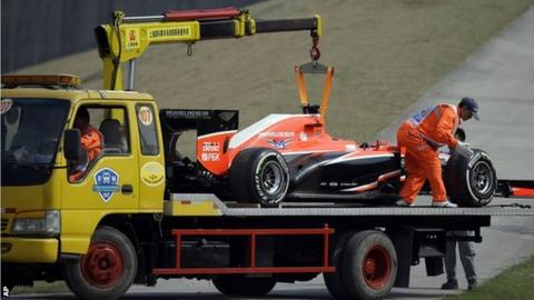 Marussia car