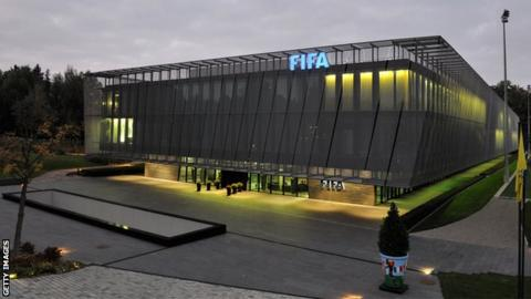 Fifa headquarters in Zurich