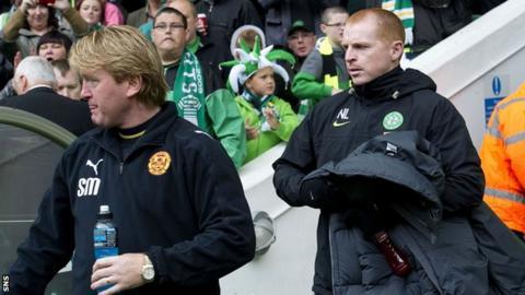 Stuart McCall and Neil Lennon