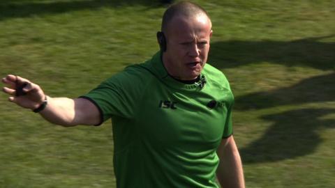 Super League referee Richard Silverwood