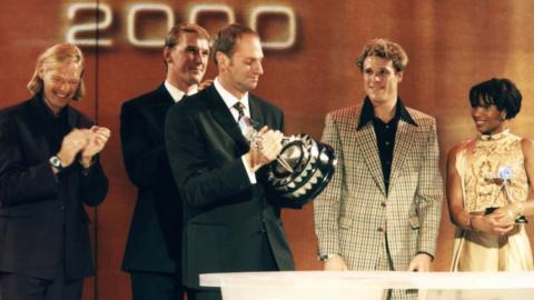 Sir Steve Redgrave wins Sports Personality