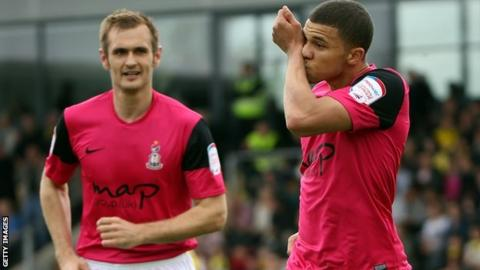 Nahki Wells and James Hanson