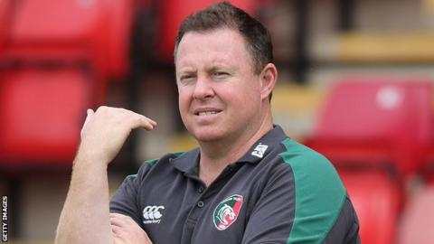 Aussie O'Connor back for second spell as Leicester coach