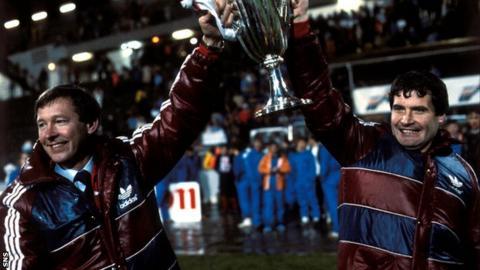 Alex Ferguson at Aberdeen