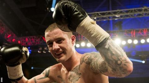WBO lightweight champion Ricky Burns